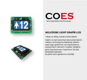NGLCD128C LIGHT GRAFİK LCD