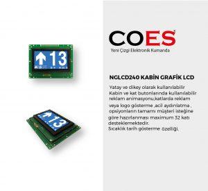 NGLCD240 KABİN GRAFİK LCD
